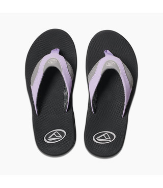 Women's Fanning Sandals - Grey/Purple