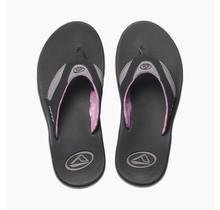 Women's Fanning Sandals - Black/Grey