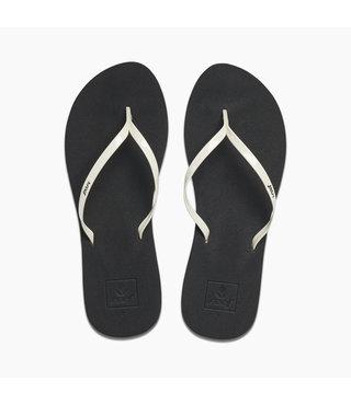 Reef Bliss Women's Sandals - Black/White