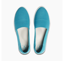 Reef Rose Women's Slip-On Shoes - Turquoise