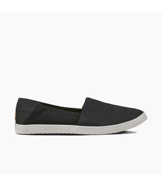 Reef Rose Women's Slip-On Shoes - Black