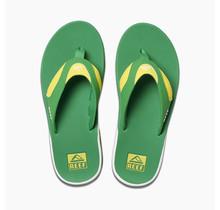 Men's Fanning Sandals - Green/Yellow