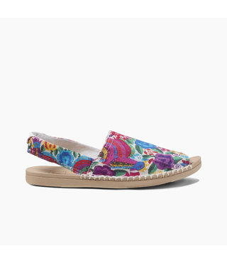 Reef Escape Sling Prints Women's Sandals - Multi Floral