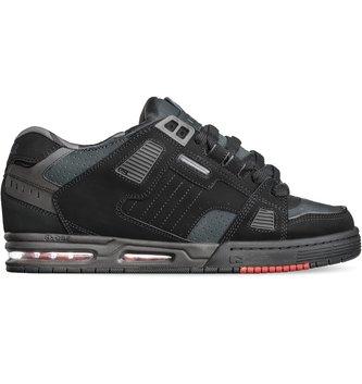 GLOBE FOOTWEAR Globe Sabre Men's Skate Shoes - Black/Night/Red