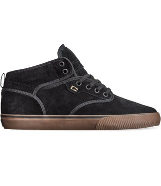 Globe Motley Mid Men's Skate Shoes - Black/Black/Tobacco
