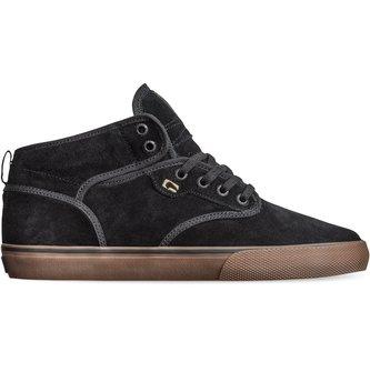GLOBE FOOTWEAR Globe Motley Mid Men's Skate Shoes - Black/Black/Tobacco