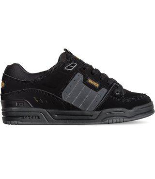 Globe Fusion Men's Skate Shoes - Black/Night/Tequila