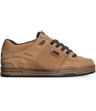 Globe Fusion Men's Skate Shoes - Tobacco Brown/Gum