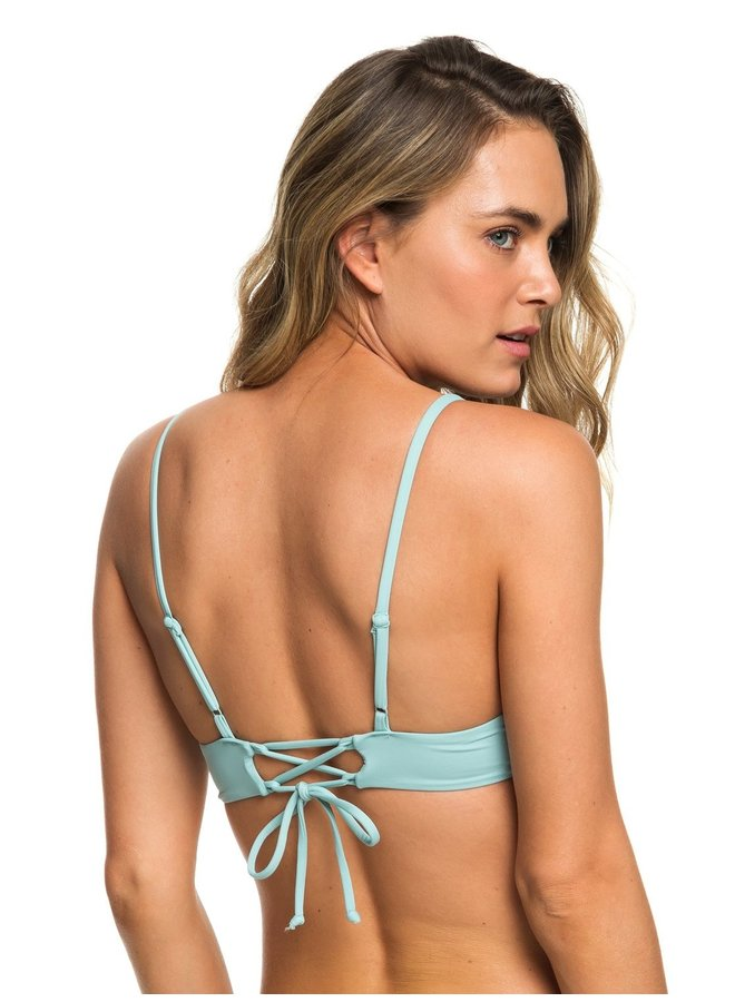 Beach Classics Athletic Triangle Bikini Top/Full Bottom - Aquifer