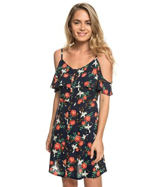 36512cc4425c Hot Spring Streets Strappy Dress - Dress Blue Garden Lily