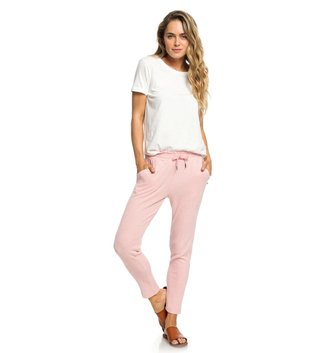 ROXY Beach Dance Super-Soft Joggers - Brandied Apricot Heather