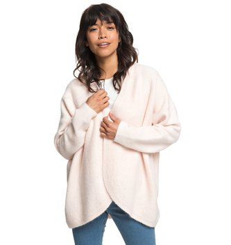 ROXY Delicate Mind Cardigan - Cloud Pink