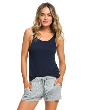 Forbidden Summer Sweat Shorts - Blue Mirage Heather