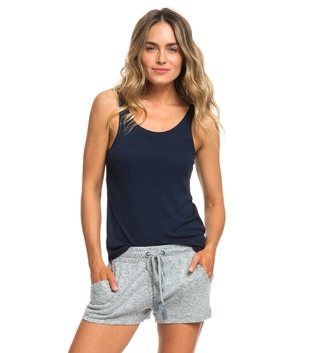 ROXY Forbidden Summer Sweat Shorts - Blue Mirage Heather