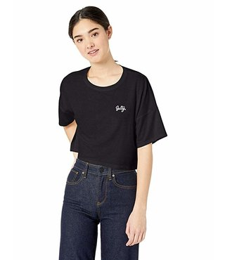 Salty Crop Crew T-Shirt - Black