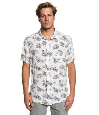 Fluid Geometric Short Sleeve Shirt - Gardenia Tea Towel