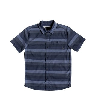 Boy's 8-16 Hotel Diva Short Sleeve Shirt - Blue Night