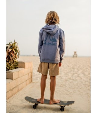 Boy's 8-16 Spring Roll Hoodie - Stone Wash
