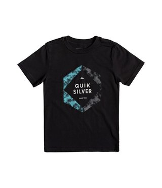 Boy's 2-7 Hexa Logo Tee - Black