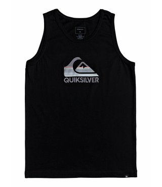 Boy's 8-16 Waves Ahead Tank - Black