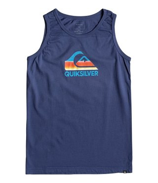 Boy's 8-16 Waves Ahead Tank - Medieval Blue
