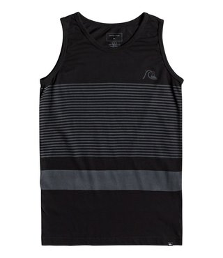 Boy's 8-16 Tijuana Stripe Tank - Black