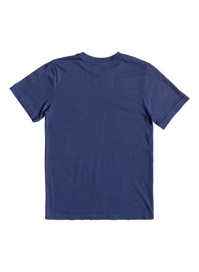 Boy's 8-16 Turbo Boost Tee - Medieval Blue