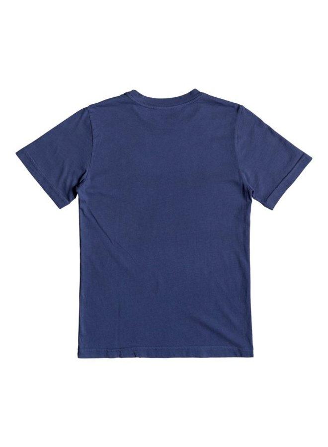 Boy's 8-16 Art Tickle Tee - Medieval Blue