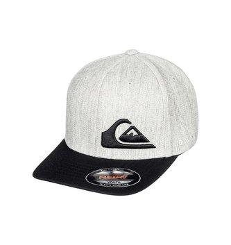 QUIKSILVER Boy's 8-16 Final Flexfit® Hat - Medium Grey Heather