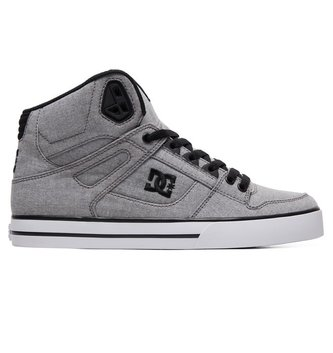 DC FOOTWEAR Pure WC TX SE High-Top Shoes - Grey