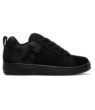 Kid's Court Graffik Shoes - Black/Black