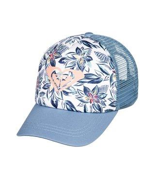 Girl's 2-6 Sweet Emotions Trucker Hat - Blue