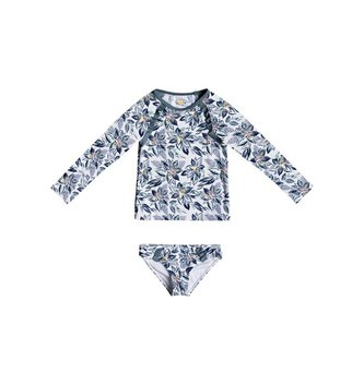 ROXY Girl's 2-6 Magic Seeker Long Sleeve UPF 50 Rashguard Set