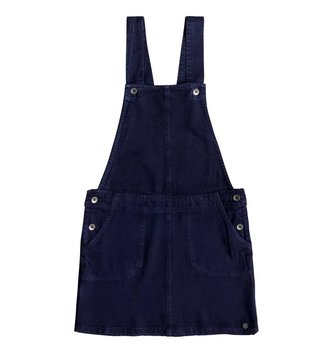 ROXY Girl's 7-14 Summers End Dungaree Dress - Dress Blues