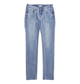 ROXY Girl's 7-14 La Luna Llena Slim Fit Jeans - Light Blue