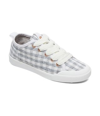 Girl's 7-14 Thalia Lace-Up Shoes - Grey