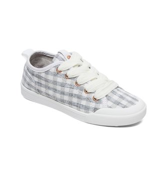 ROXY Girl's 7-14 Thalia Lace-Up Shoes - Grey