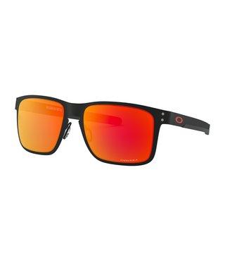 Holbrook™ Metal Matte Black Sunglasses w/ Prizm Ruby Lens