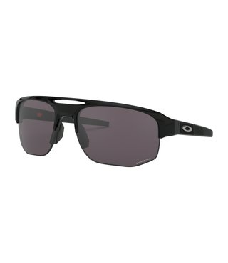 Mercenary Polished Black Sunglasses w/ Prizm Grey Lens
