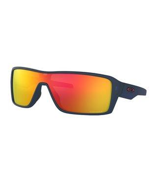 Ridgeline Matte Translucent Blue Sunglasses w/ Prizm Ruby Lens
