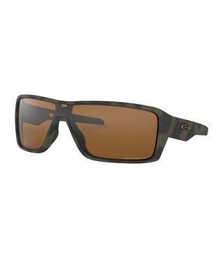 Ridgeline Matte Olive Camo Sunglasses w/ Prizm Tungsten Polarized Lens