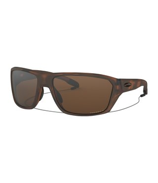 Split Shot Matte Brown Tortoise Sunglasses w/ Prizm Tungsten Polarized Lens
