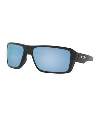 Double Edge™ Matte Black Sunglasses w/ Prizm Deep Water Polarized Lens