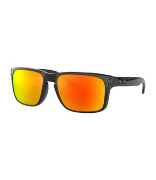 Holbrook™ Polished Black Sunglasses w/ Prizm Ruby Polarized Lens