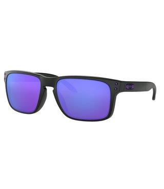 Holbrook™ Julian Wilson Signature Matte Black Sunglasses w/ Violet Iridium Lens