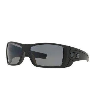 Batwolf® Matte Black Sunglasses w/ Grey Polarized Lens