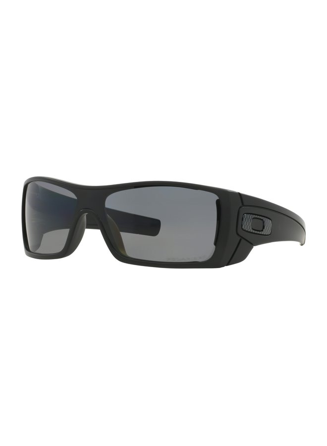 Batwolf® Matte Black Sunglasses w/ Grey Polarized Lens