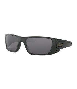 Fuel Cell™ Matte Black Sunglasses w/ Grey Polarized Lens