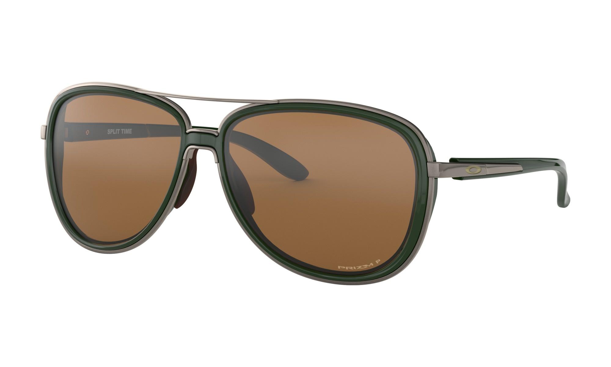 1470833b5 OAKLEY Split Time Forest Sunglasses w/ Prizm Tungsten Polarized Lens. Press  tab to enlarge