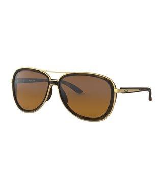 Split Time Brown Tortoise Sunglasses w/ Brown Gradient Polarized Lens